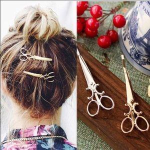 Accessories - Scissor hair clips